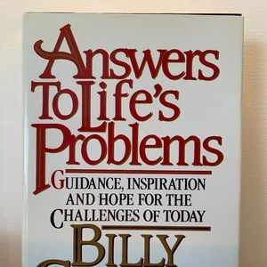 Answers to Life's Problems Billy Graham 1988